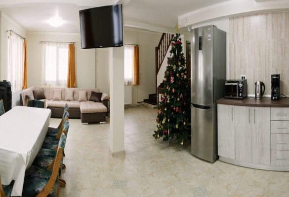 living + bucatarie Gold House